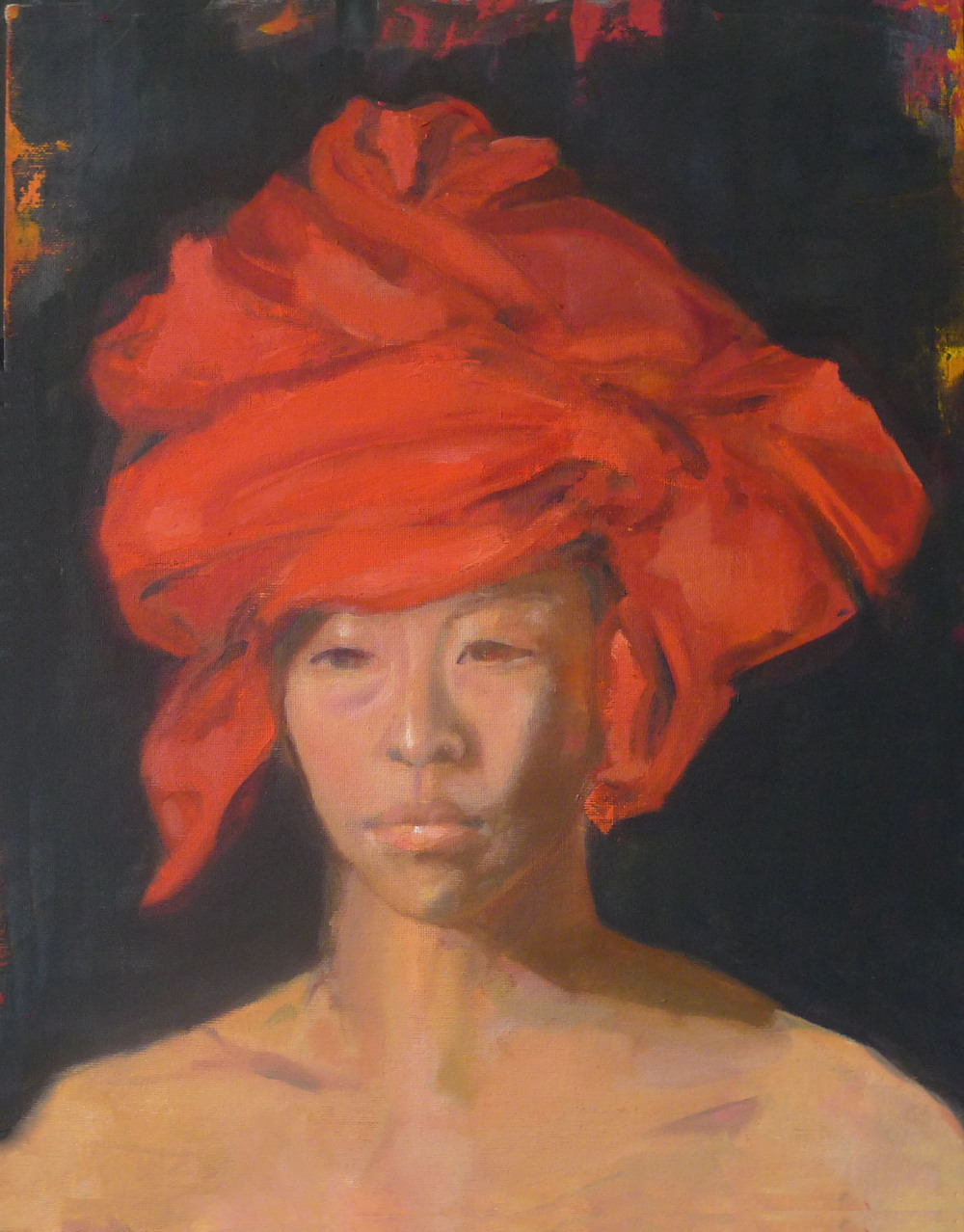 study,2014  Oil on Canvas  16x12inches