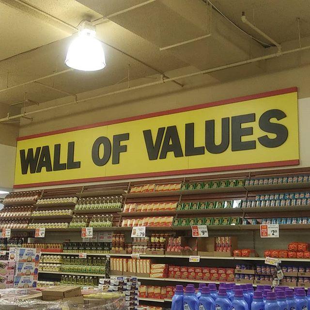 found it #wallofvalues
