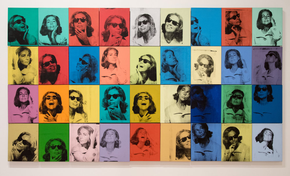 Ethel Scull 36 Times, Andy Warhol, 1963