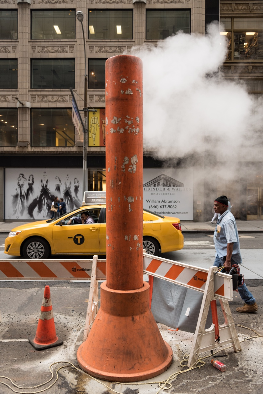 Mind the steam Midtown, NYC