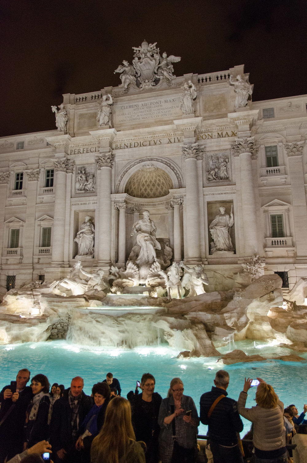 Trevi Fountain, the Times Square of Rome.
