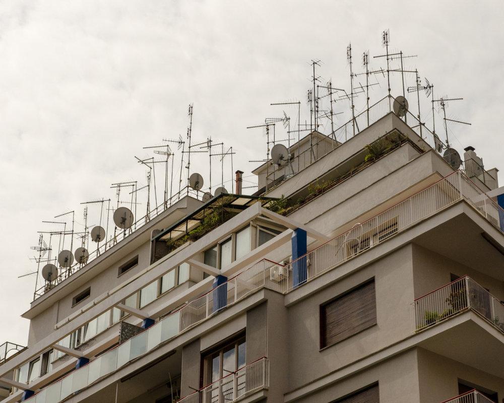 Antennae  Rome, Italy
