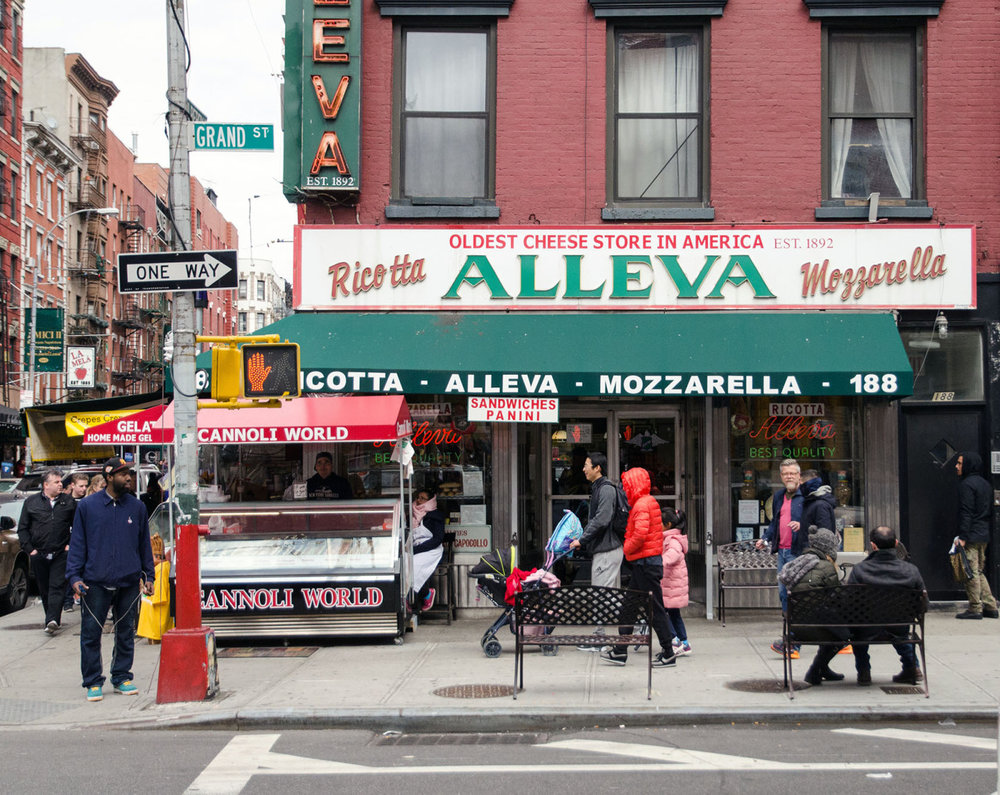 Street life, Little Italy, NYC.