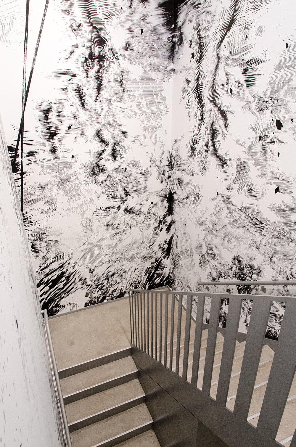 Stairwell, Soho, NYC