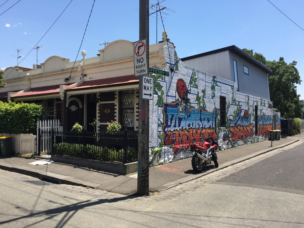 Fitzroy, Melbourne, Australia.