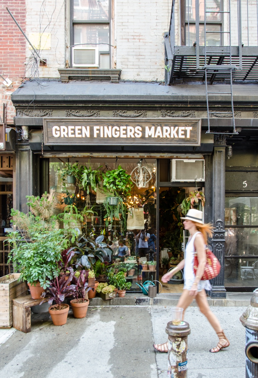 Green Fingers Market, The Bowery, NYC