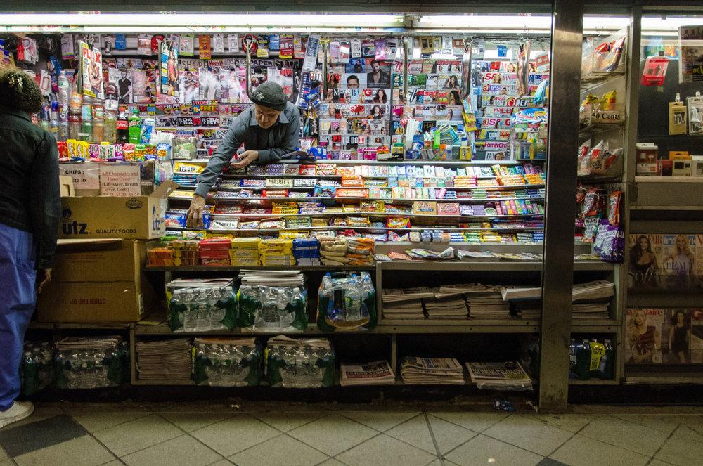 59th Street subway station in Manhattan, New York City.