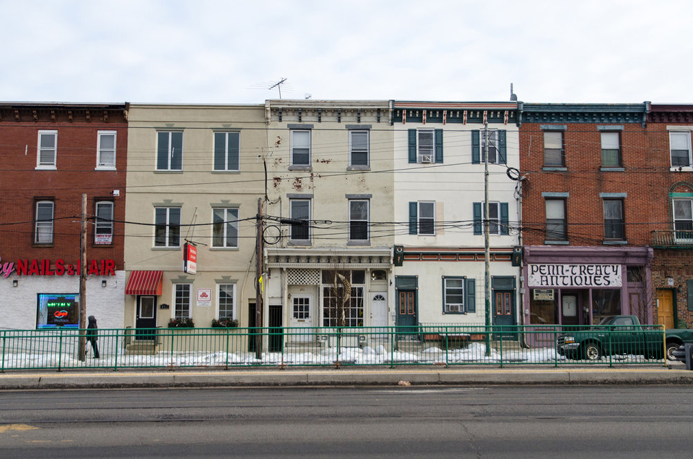Walking through the Fishtown neighborhood in Philadelphia.