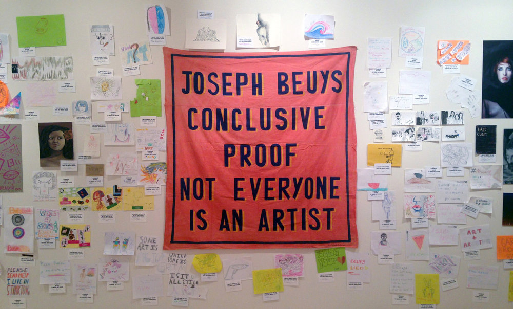 Bob and Roberta Smith: Art Amnesty at MoMA PS1 in Queens