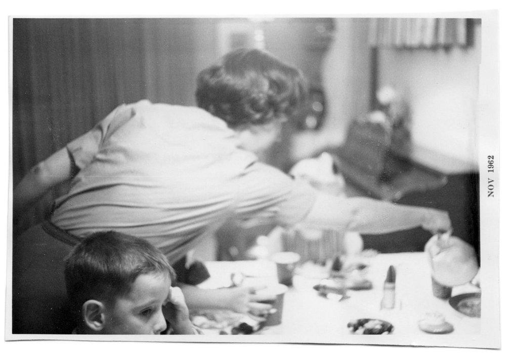 Dinner in Iowa, 1962