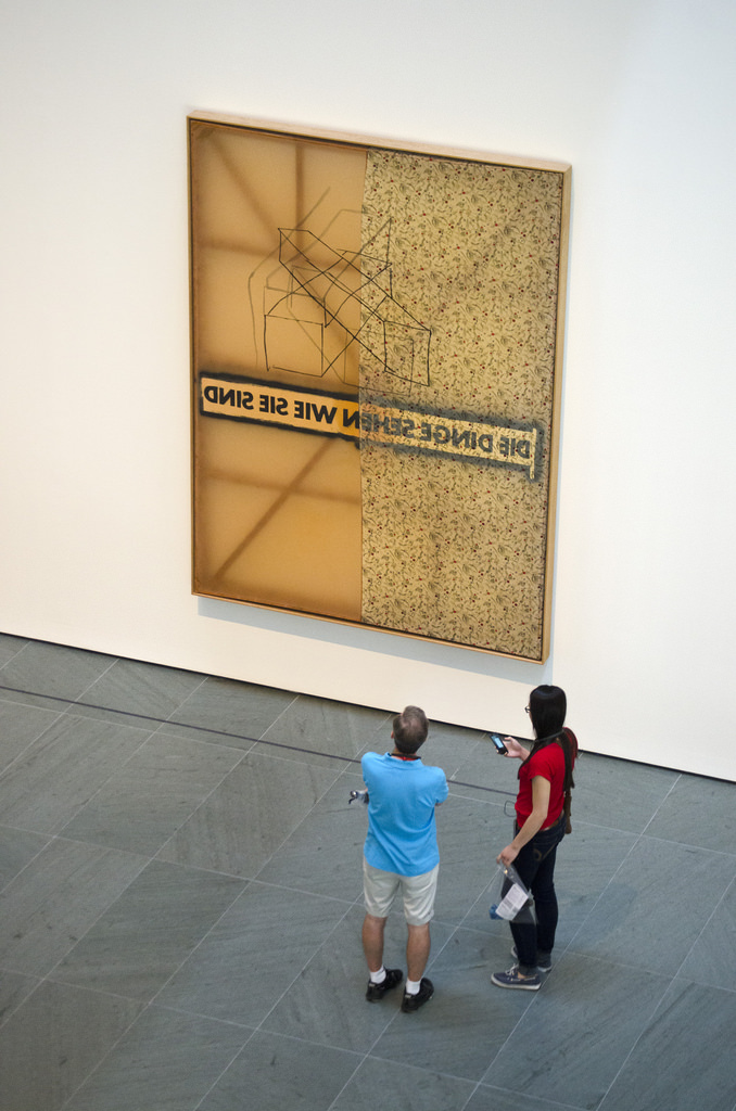 Sigmar Polke  Alibis show at MoMA, New York City