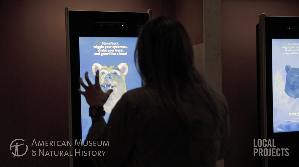Avatour, an interactive kiosk experience and augmented reality museum tour