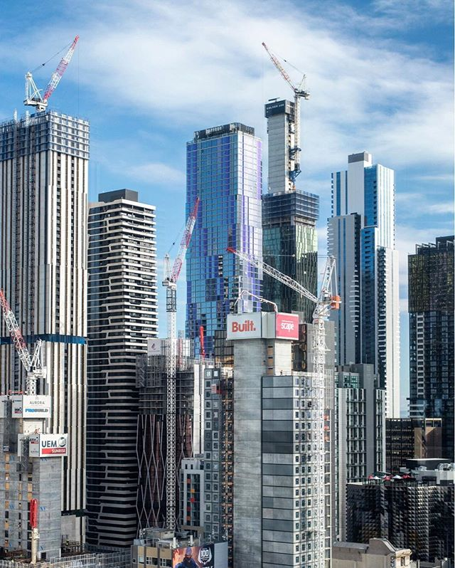Cranial #skyline #melbourne #city