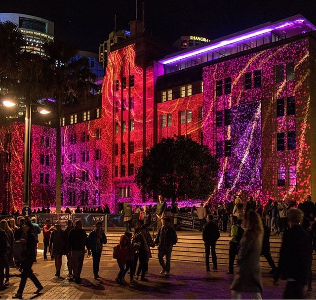 MCA in lights #mca #sydney #vividsydney