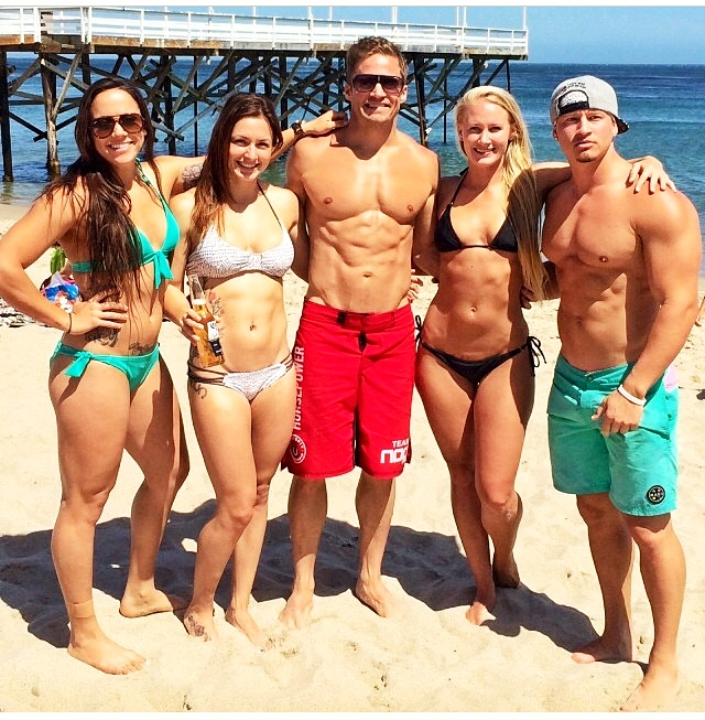 Marie, Danielle, Dan, Ashley & Nate | 2nd Annual Horsepower Beach Party
