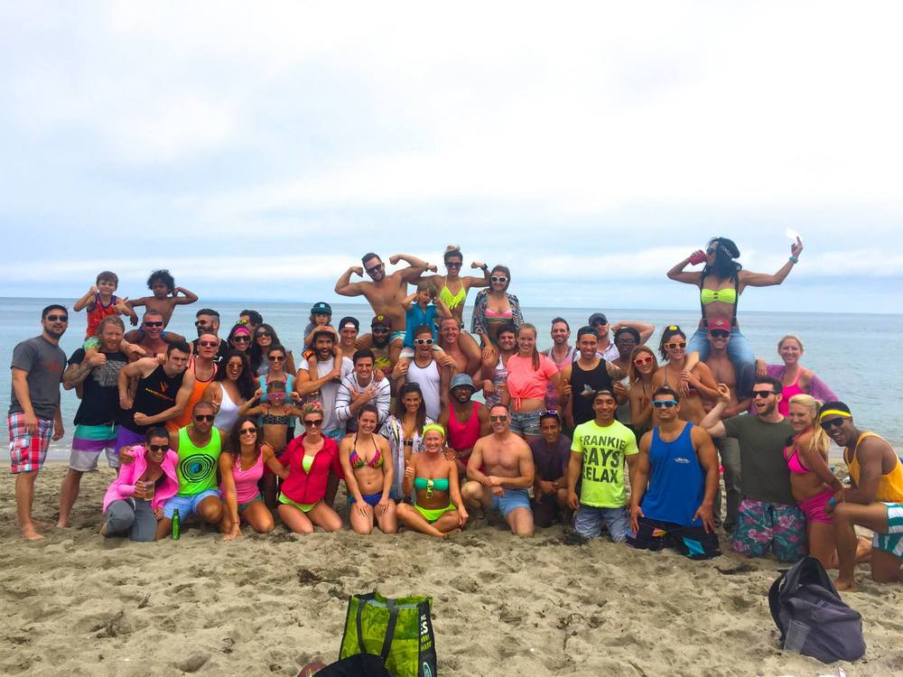 CrossFit Horsepower's 3 Year Anniversary 80's Beach Party  Paradise Cove, Malibu