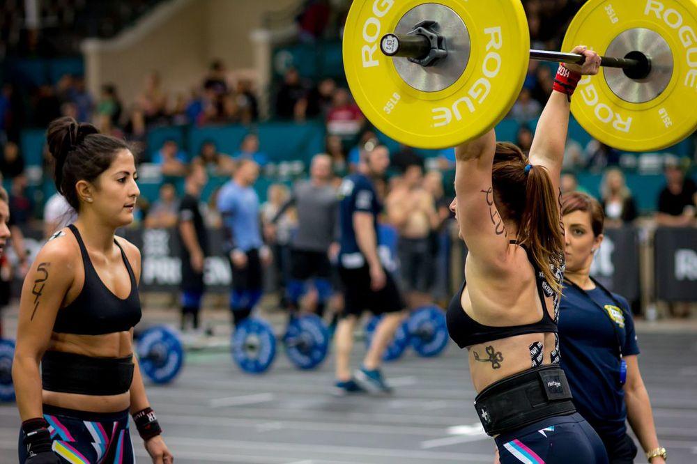 Angelina & Danielle | 2014 CrossFit Regionals