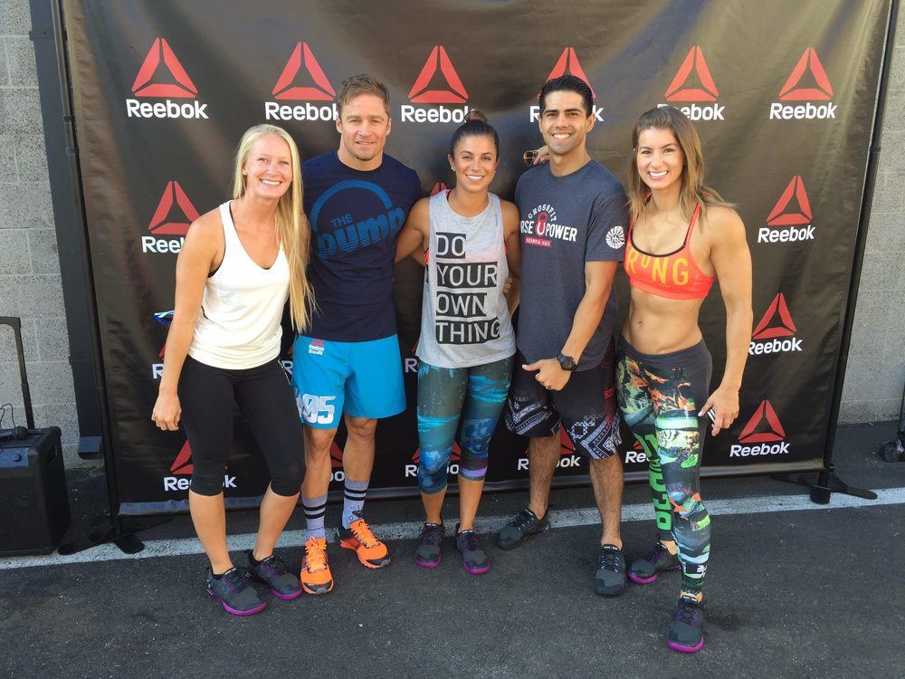 Ashley, Dan, Danielle, Aaron & Jen @ The Pump Event | CrossFit Horsepower: Hermosa Beach