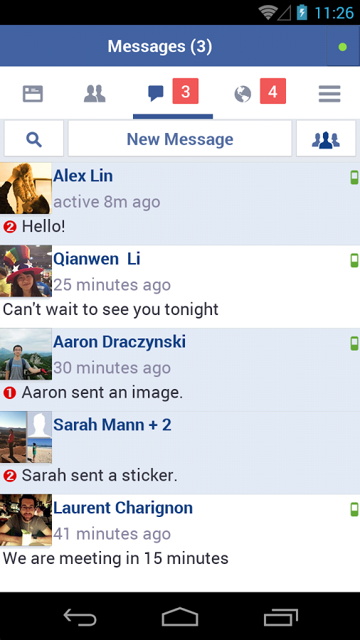 Facebook Lite Messages