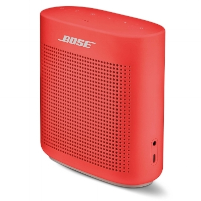 Version II of the Bose SoundLink Color Bluetooth Speaker.
