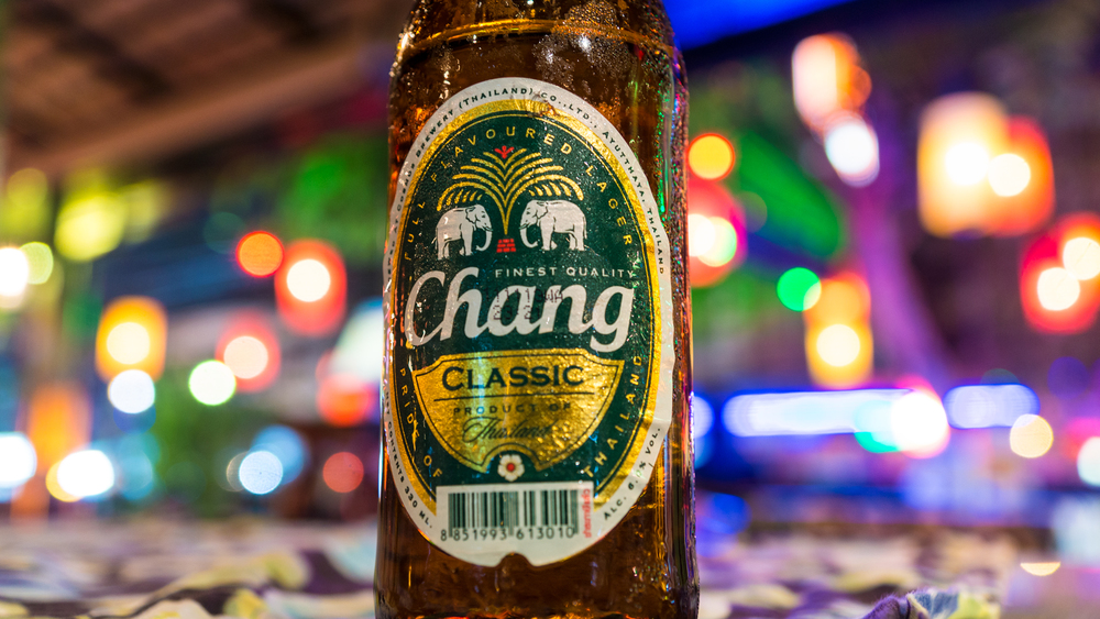 Chang beer costs about 20(thai bhat roughly .61 cent) It'll get you drunk and quickly spending your money on more expensive things.