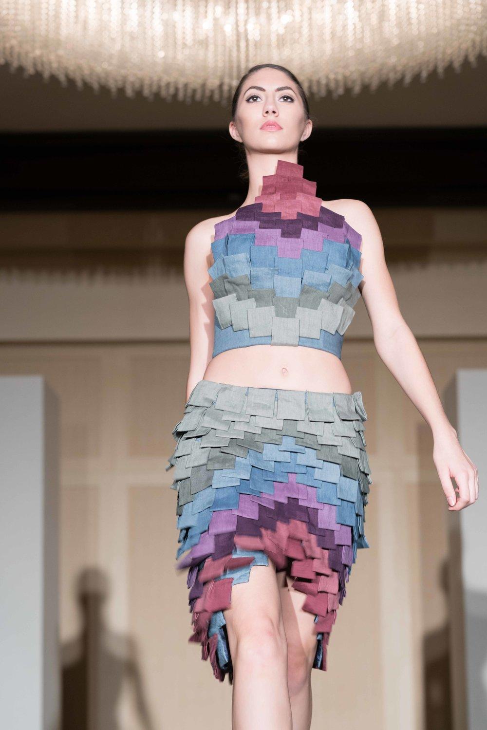 Linda Diaz's Winning Fashion Design