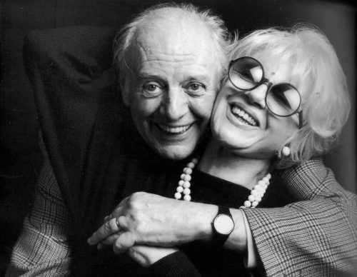 Dario Fo and Franca Rame (Guido Harary©)