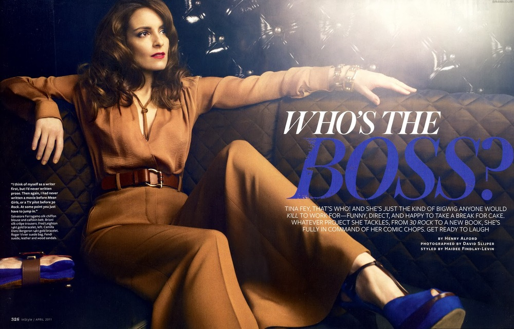The queen of bossy (photo from In Style)