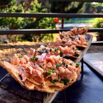 The Salmon Chips at Two Urban Licks (photo from yelp)