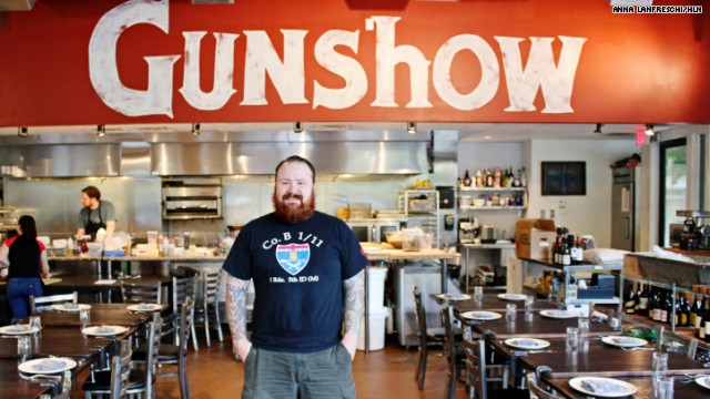 Kevin Gillespie of Gunshow (Photo from hlntv.com)