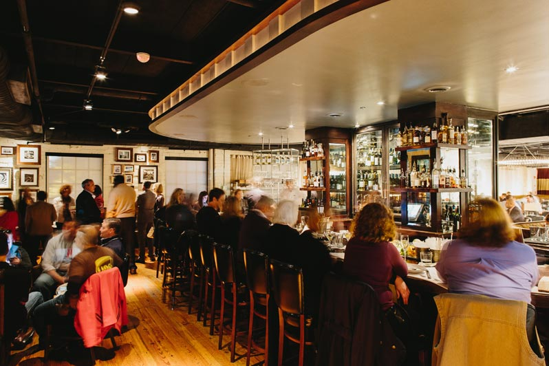 The always hopping bar at Ecco (Photo from ecco-atlanta.com)
