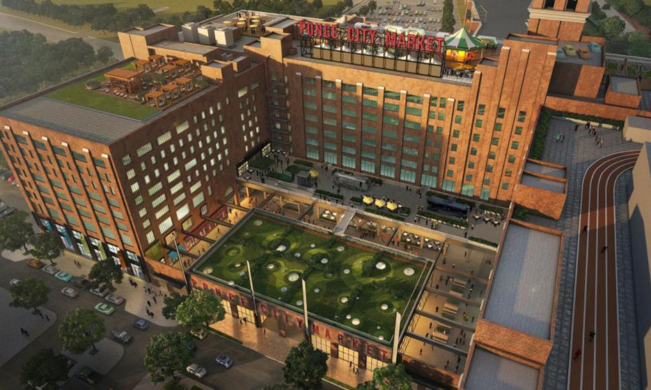 Ponce City Market (photo from Conde Nast via Poncecitymarket.com)