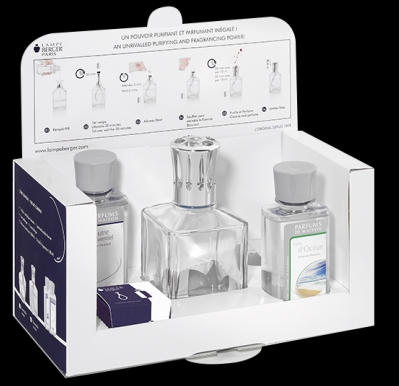 Lampe Berger home fragrance Essential Kit (photo from lampeberger.us)