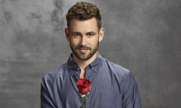 Is he really going to give this rose to anyone? (Photo from hollywoodreporter.com)