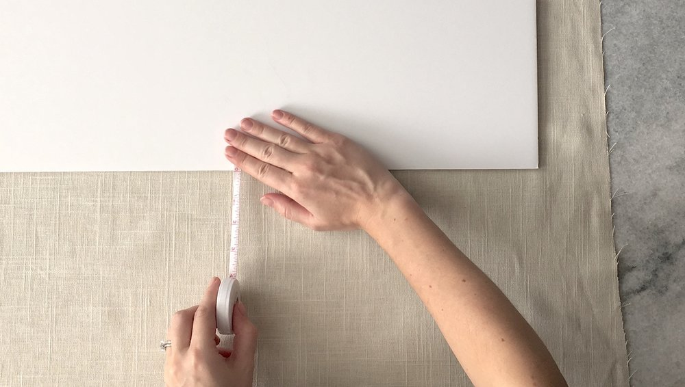 measuring linen