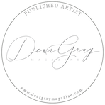 Dear Gray Magazine Feature Badge ElisaAnne Calligraphy