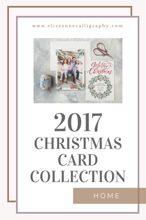 2017 christmas card collection how to order your cards elisaanne