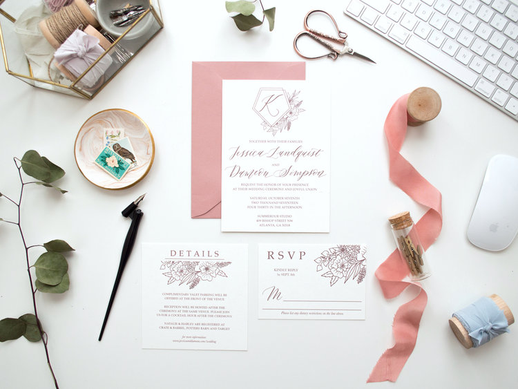 5 commonly asked questions about custom wedding invitations important to note stationers and calligraphers have to charge a design fee to make a stopboris Gallery