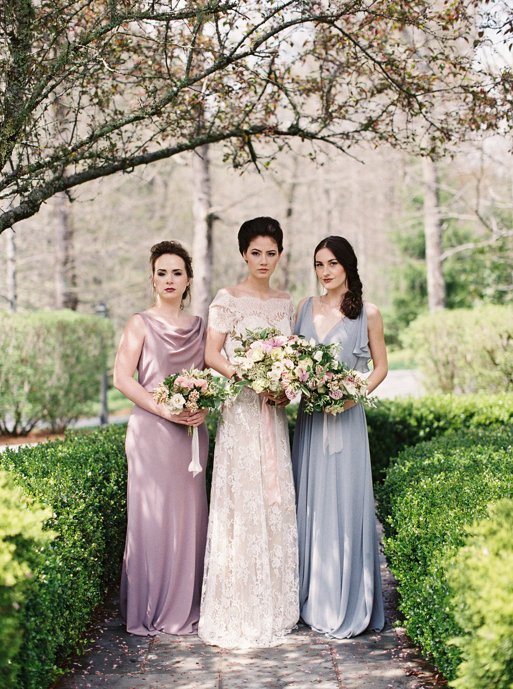 Will your bridesmaids be lifelong friends, friends from college, or current work friends? It's up to you to narrow them down!   Photo by Noi Tran .