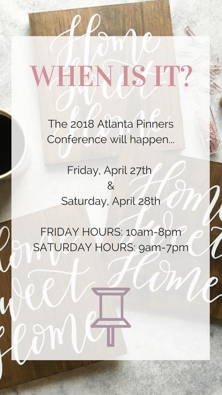 pinners atlanta georgia, pinners 2018, pinners conference