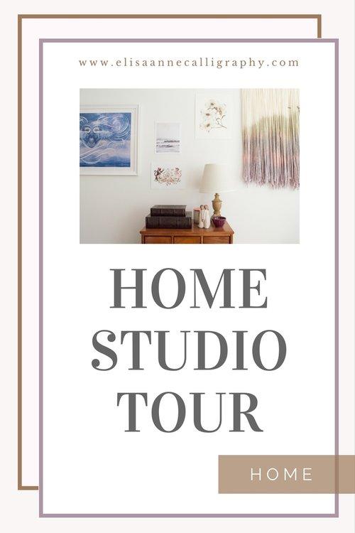 Wedding calligrapher invitation designer home studio tour pin this for later stopboris Choice Image