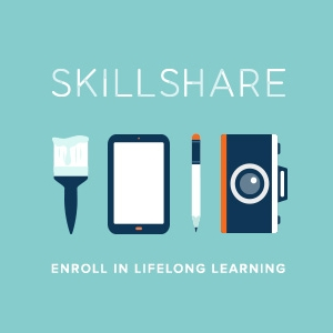 SKILLSHARE - Enroll now and receive two FREE months of Skillshare!As a self-taught creative, this program is truly invaluable, as you can really learn SO much from the large variety of classes that have been uploaded.