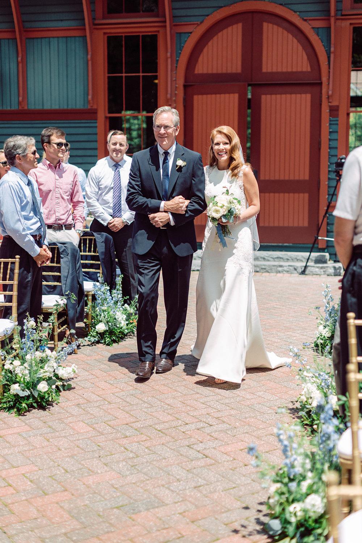 The Trolley barn wedding