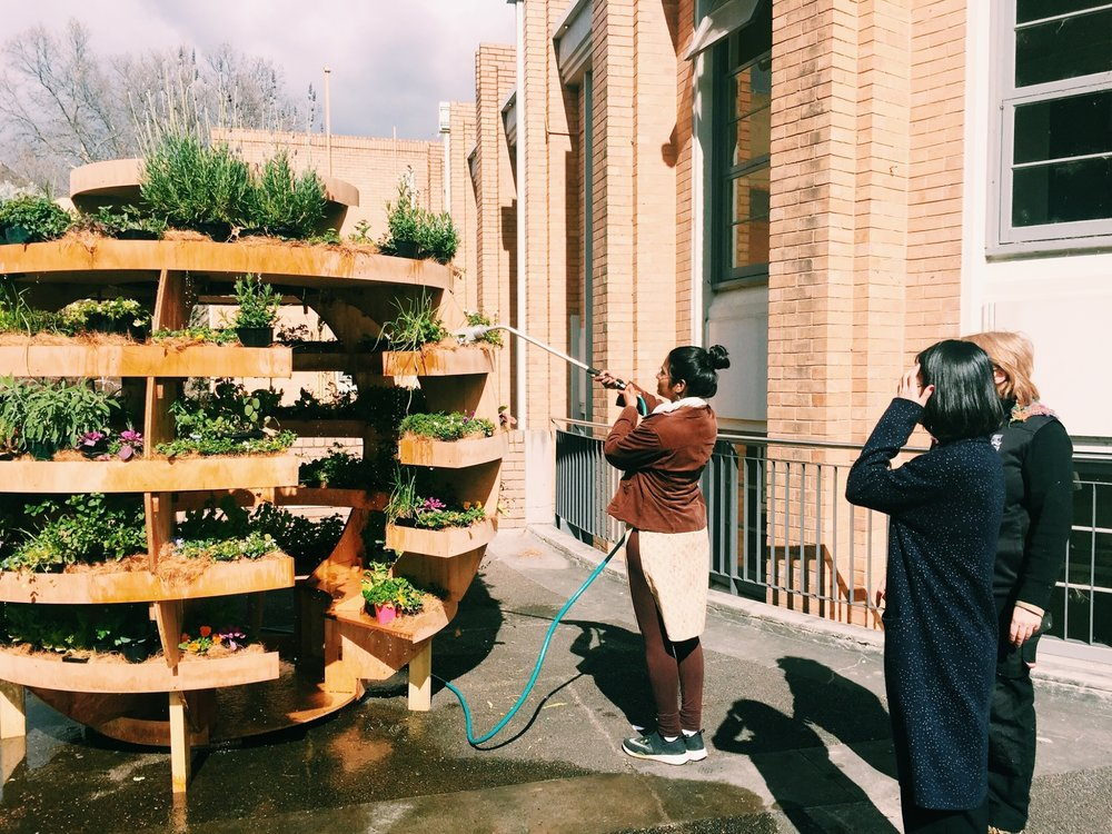 OTHER PROGRAMS   We deliver free fruit to university libraries, maintain a vertical herb garden and work with departments across campuses to deliver projects and develop fair food policies.