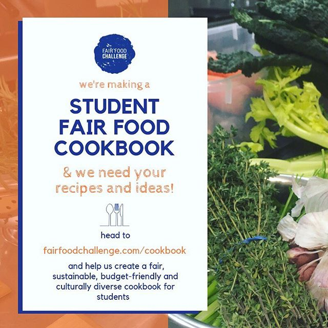 Throughout 2018 we have run a number of workshops, cooking demonstrations and kitchen skill sessions and want to capture some of that knowledge and share it with other students.  To do that we're going to produce a fair food cookbook for students.  We're including sustainability and food waste tips, simple and delicious recipes and information about health, nutrition and eating well on a budget.  We've got some great recipes up our sleeves but we want to hear from you!  We want our recipes to be food that students actually eat and we want our cookbook to represent the diversity of our community. A lot of student food resources out there have the same tips over and over again and we want to make something more culturally diverse, easy to use and sustainability conscious.  Follow the link in our bio to find out more or to submit a recipe to the project —————————————————————————— #unimelb #food #cooking #cookingclass #communitykitchen #studentcooking #studentfood  #igfood #foodie  #eathealthy #eatwell #nomnom #foodie #foodporn #instavegan #instarecipes #instafood #instarecipe #instalove #instacooking #vegan #recipe #healthyfood #vegetarian #veggie  #recipes #yummy #cookbook