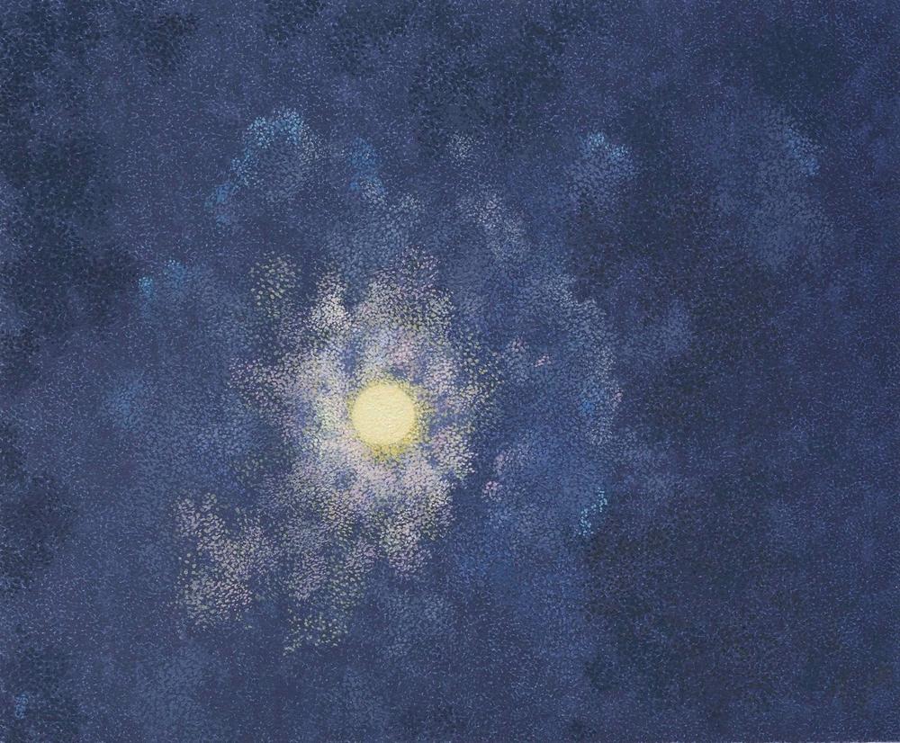 Gaudy Moon