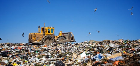 . : garbage dumps & recepticals