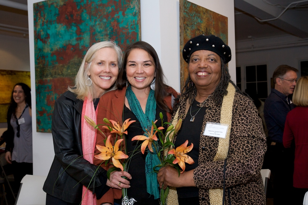 Anne Dusenberry, Lisa Walker and Sojourner Kinkaid Rolle