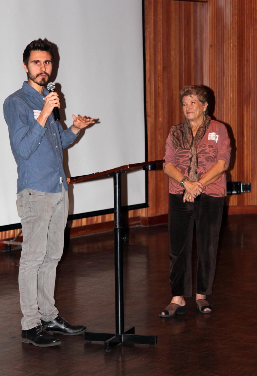 Dan La Bellearte and Julie McLeod
