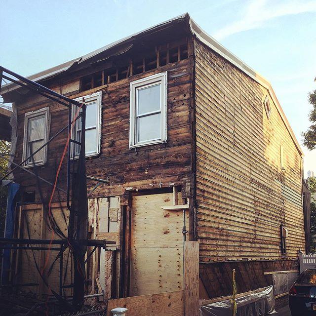 #stripped #wood #house #restoration in #windsorterrace #brooklyn